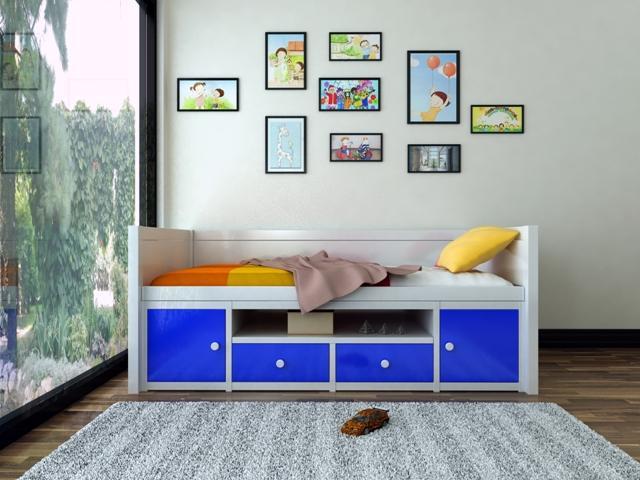 Giường gỗ cho bé GD6804