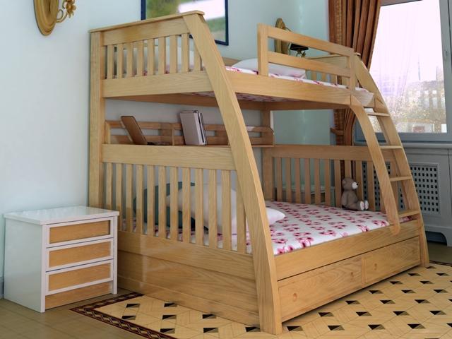 Giường hai tầng trẻ em GT6810