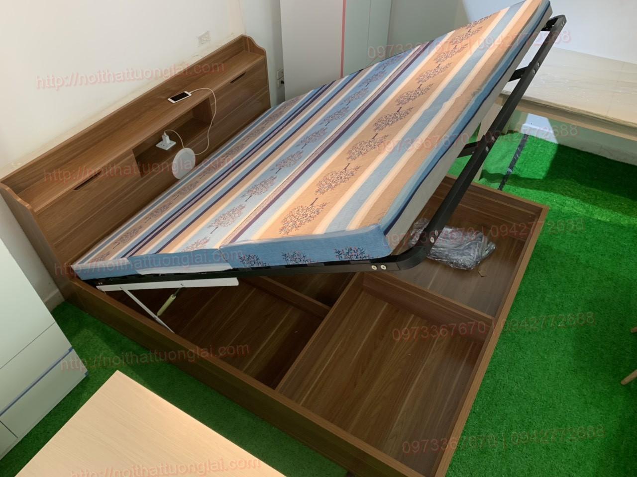 Giường ngủ thông minh đẹp GN6802