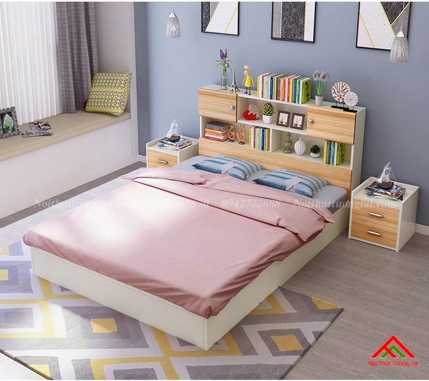 Giường ngủ thông minh thiết kế tiện dụng GN6820