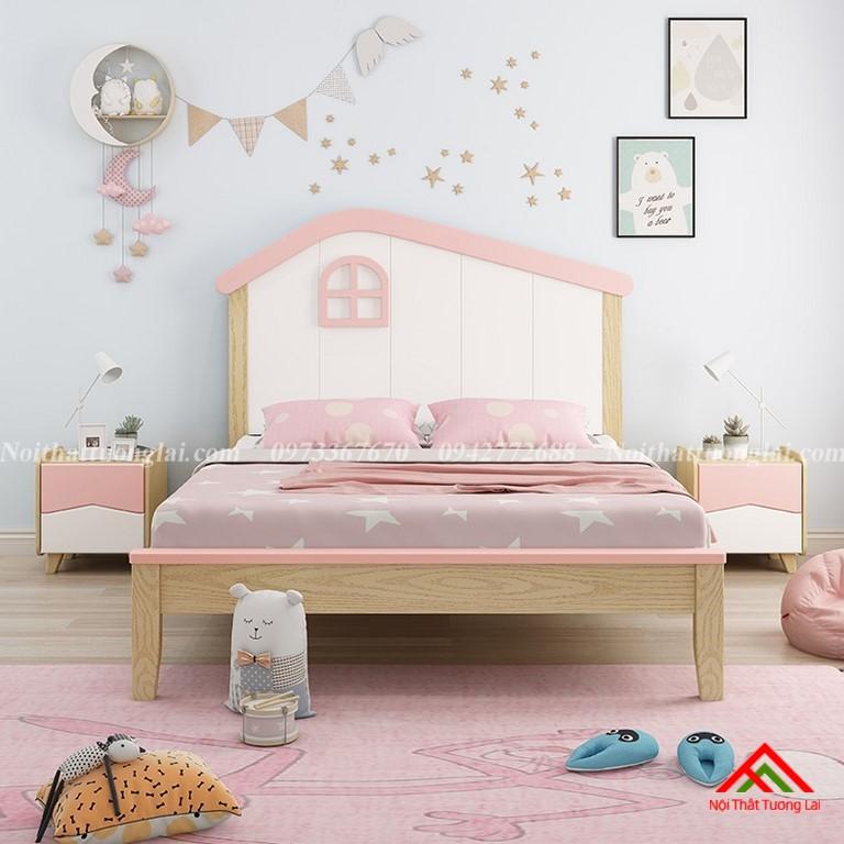 Giường ngủ trẻ em cho bé gái GB6806