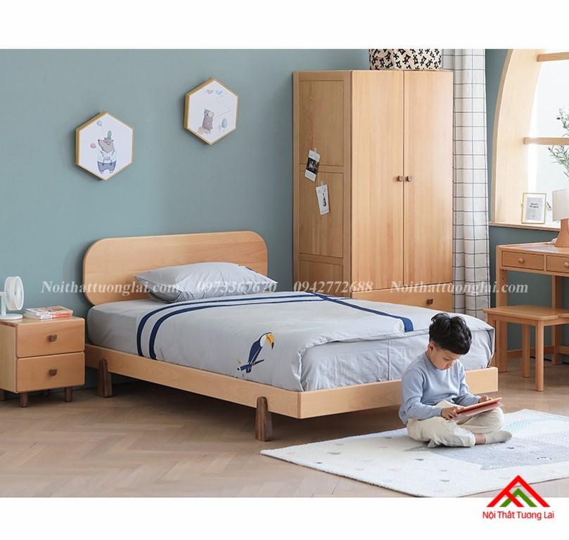 Giường ngủ trẻ em cho bé trai GB6807