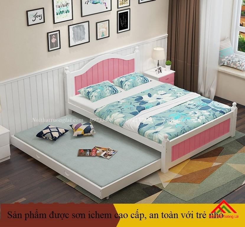 Giường ngủ trẻ em màu sắc đa dạng GB6803