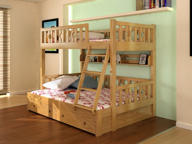 Giường tầng cao cấp cho bé GT6816