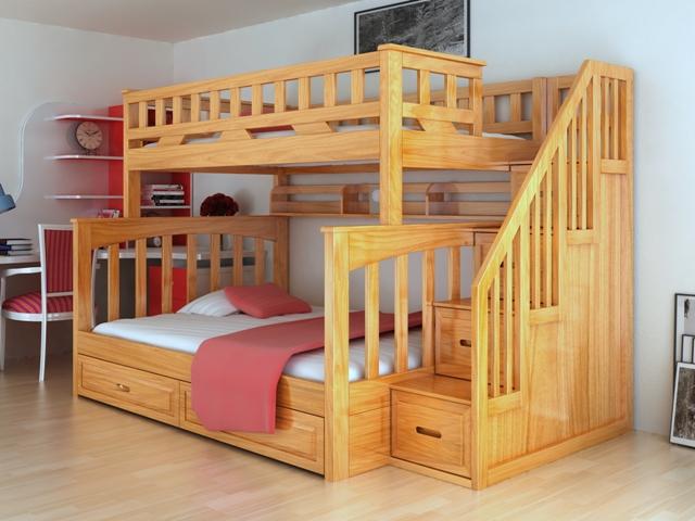 Giường tầng cho bé GT6813