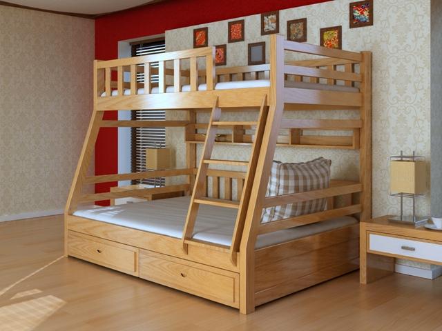 Giường tầng trẻ em GT6809