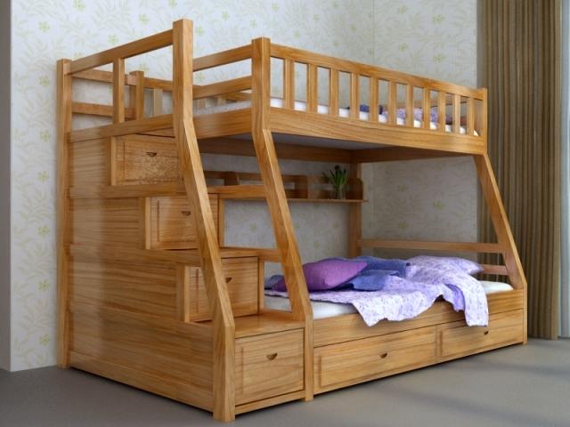 Giường tầng trẻ em đẹp GT6817