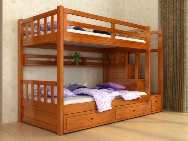 Giường tầng trẻ em GT6804