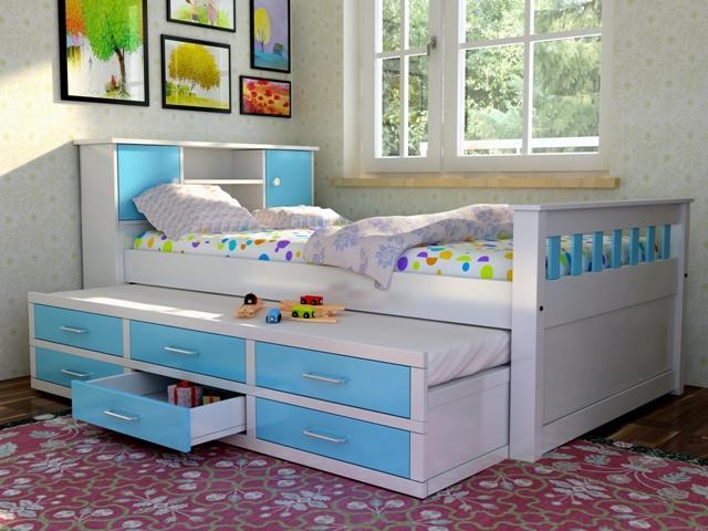 Giường trẻ em đa năng cho bé GD6807