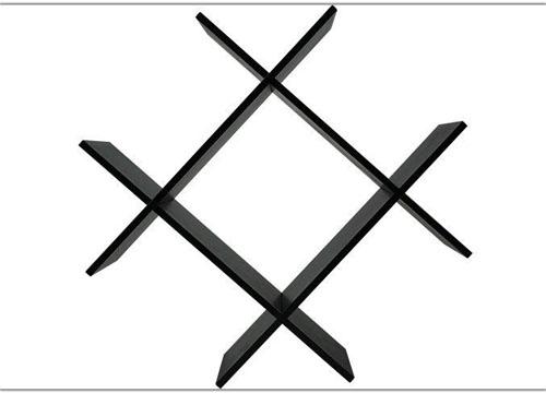 Kệ treo tường hình chữ thập KT6809