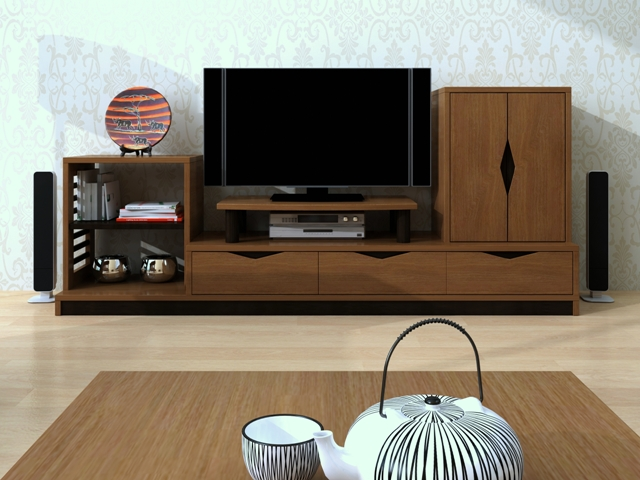 Mẫu kệ tivi - kệ tivi phòng khách TV6802