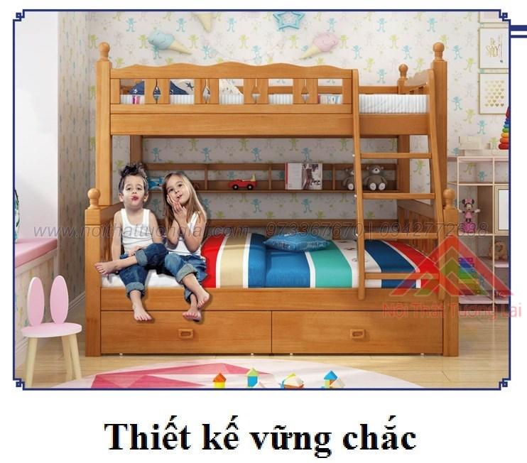 Giường ngủ 2 tầng trẻ em GT6822