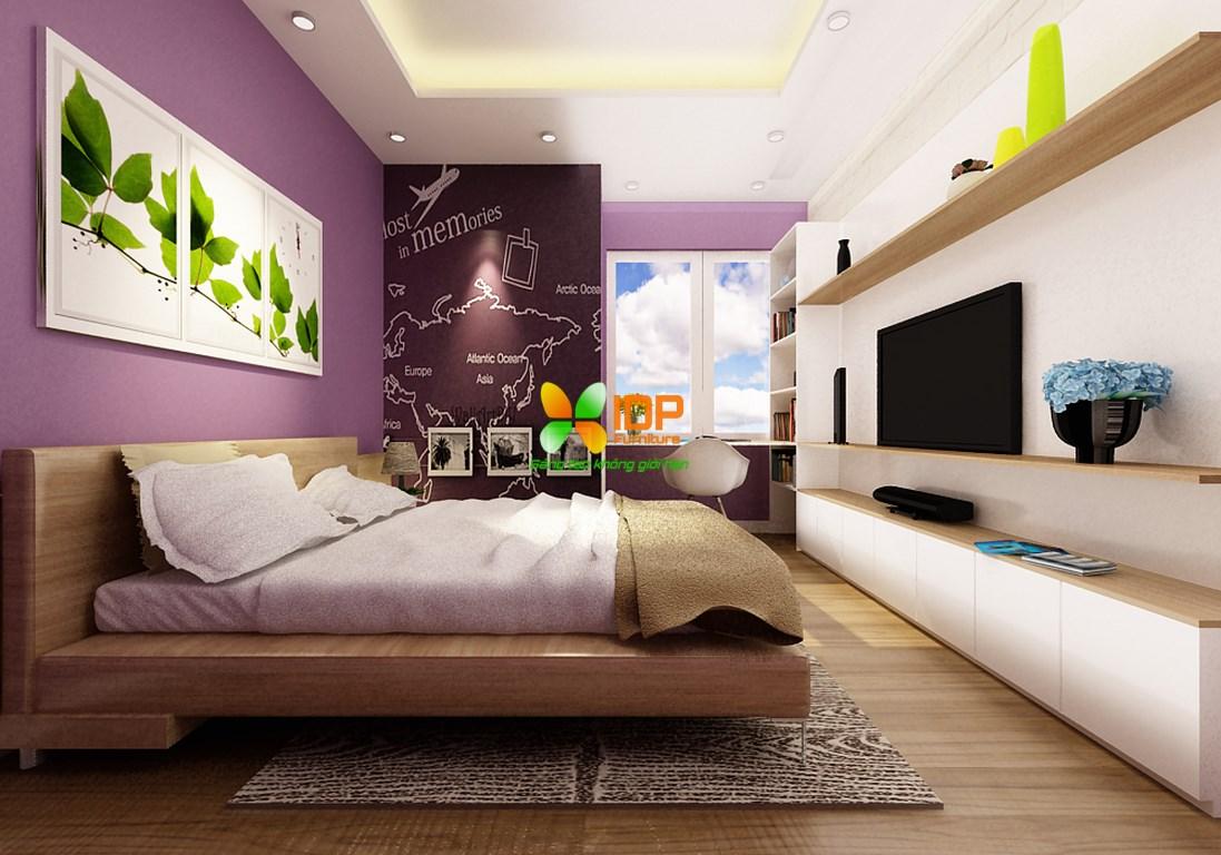 Mẫu phòng ngủ đẹp hiện đại PN601