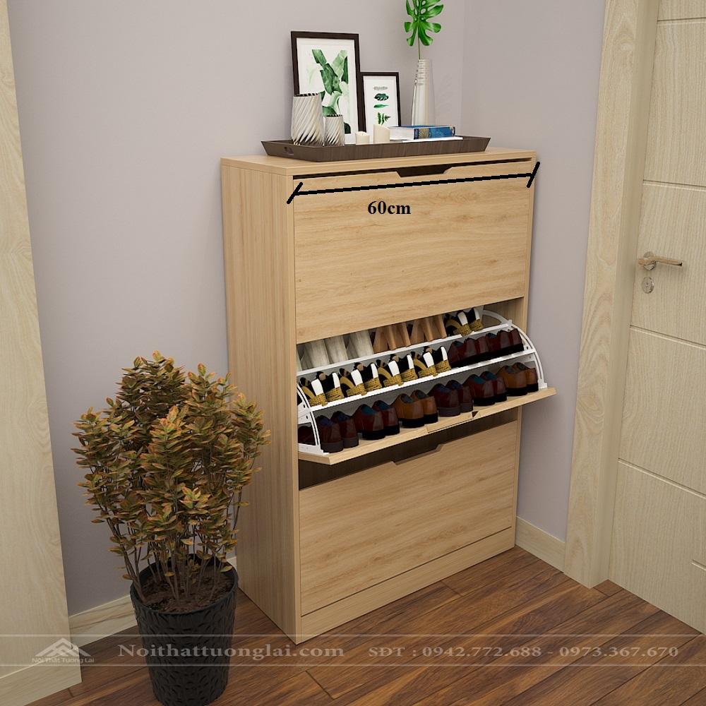 Tủ để giầy dép thông minh đẹp hiện đại TG6805