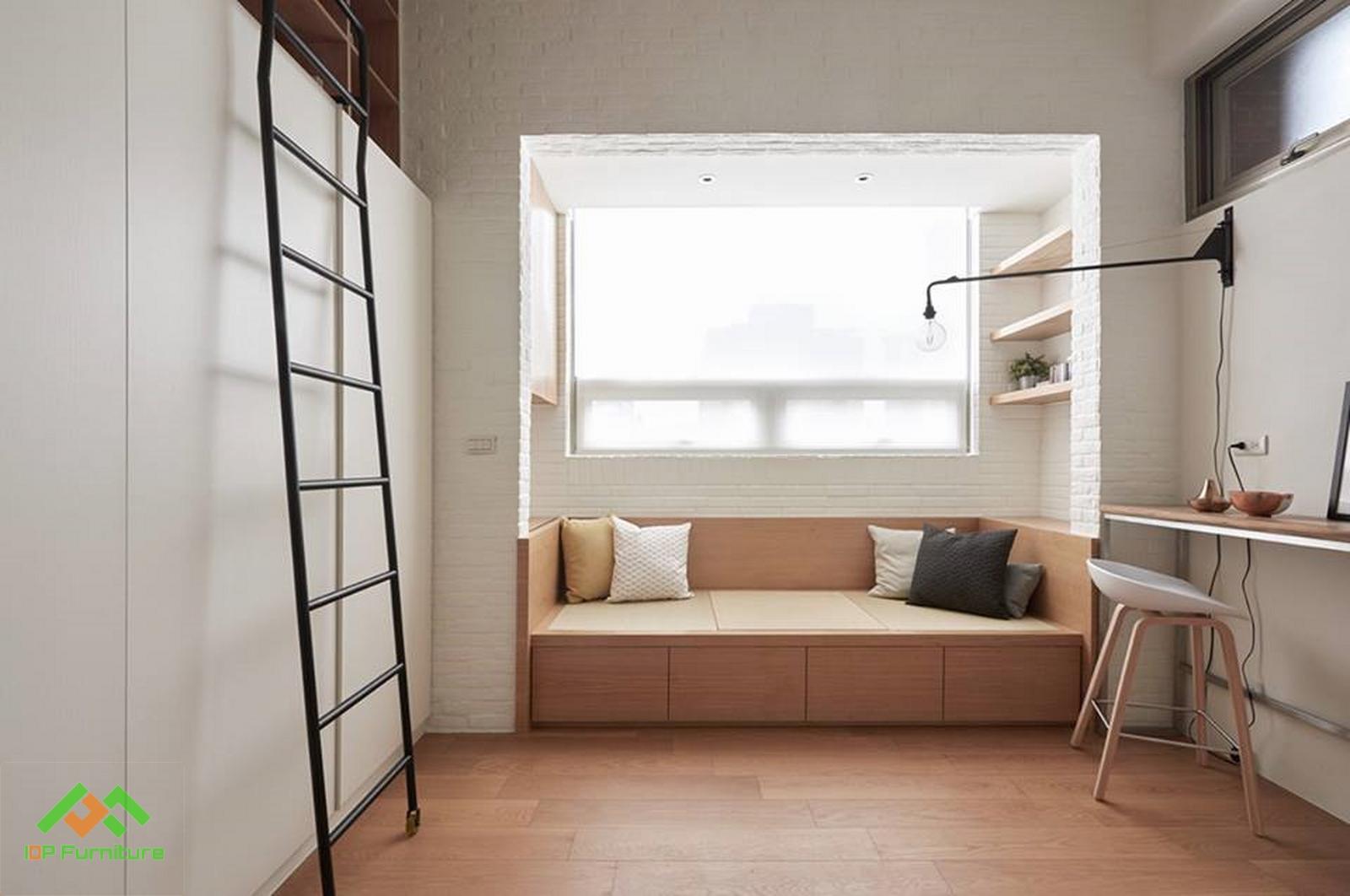 Thiết kế căn hộ đẹp có diện tích chưa tới 30 mét vuông