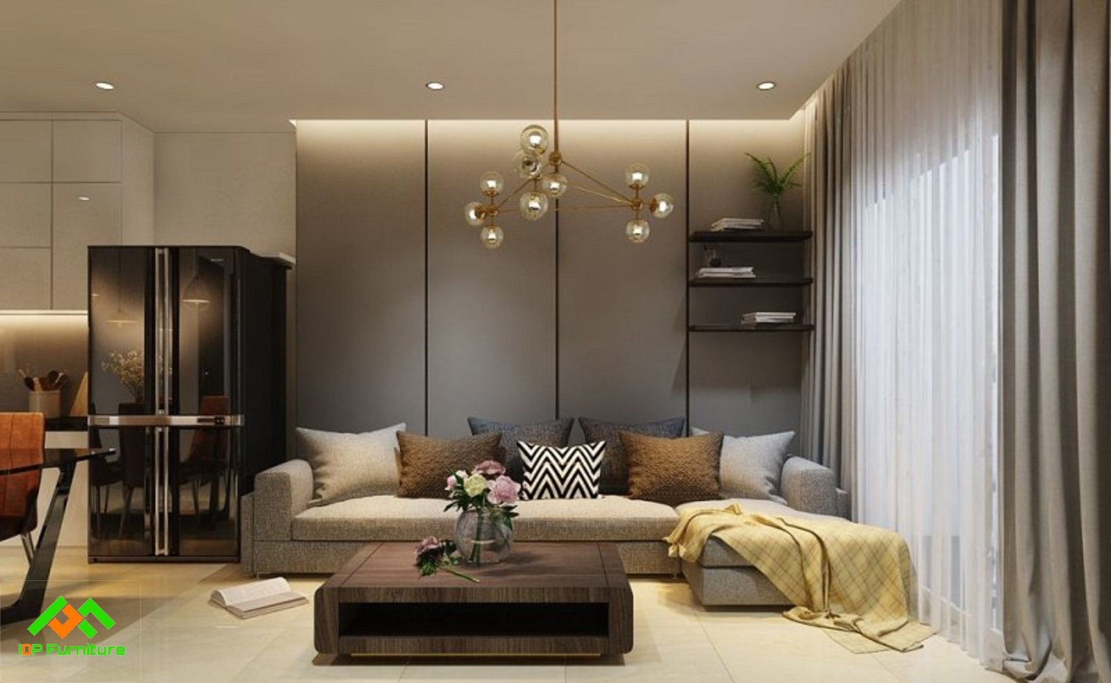 Thiết kế nội thất chung cư CT1B Nghĩa Đô