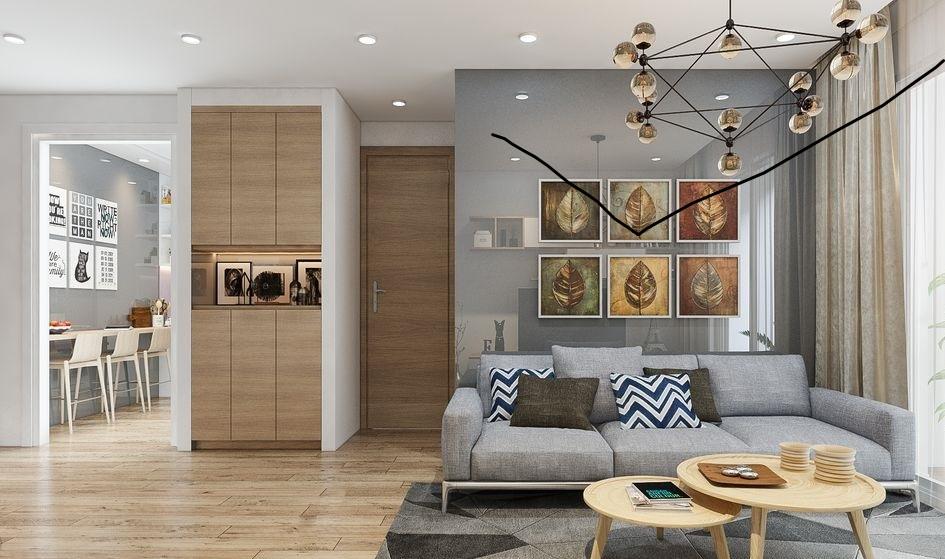 Thiết kế nội thất chung cư T8 Đoàn ngoại giao