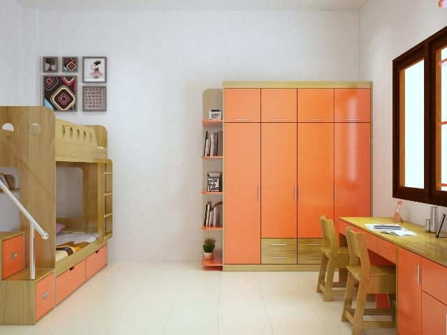 Mẫu thiết kế phòng cho bé của Nội Thất Tương Lai TE6803