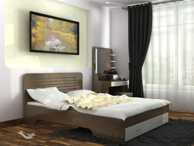 Mẫu thiết kế nội thất chung cư đẹp  CC6801