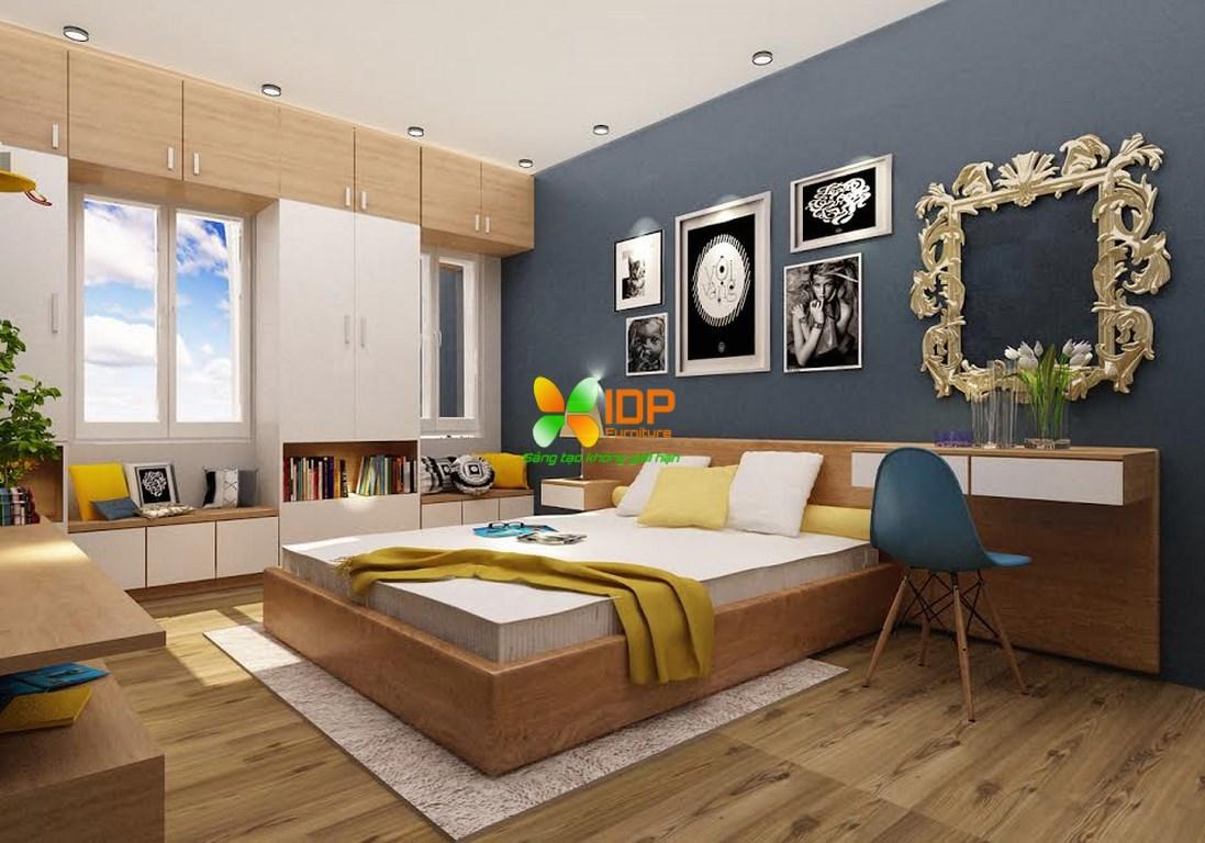 Mẫu phòng ngủ đẹp hiện đại PN602