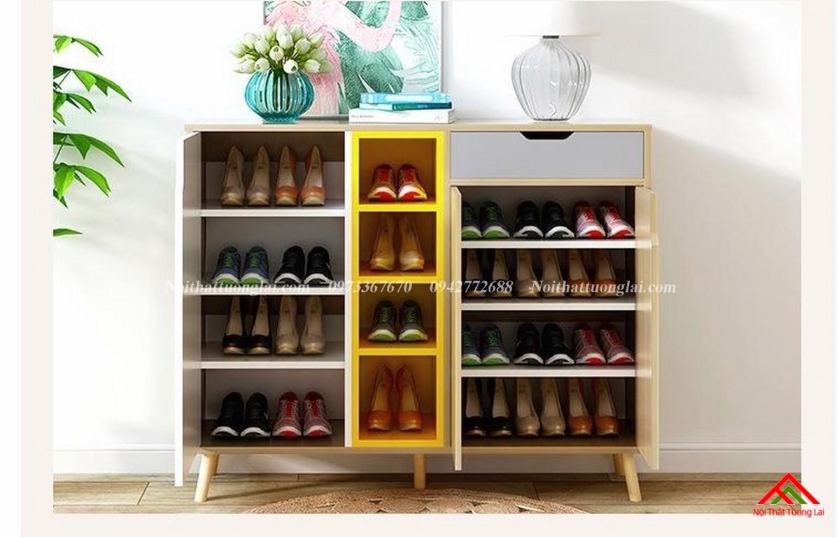 Tủ giày dép thiết kế tiện dụng TG6811