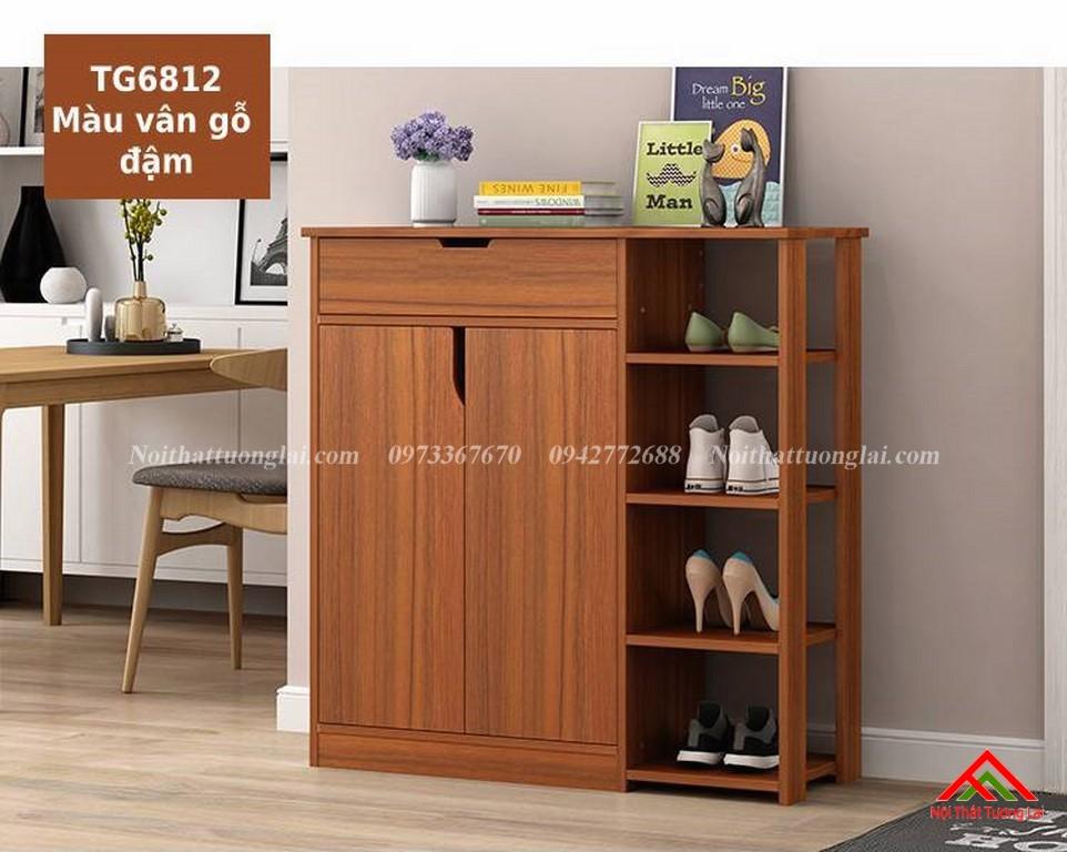 Tủ giầy gỗ công nghiệp hiện đại TG6812