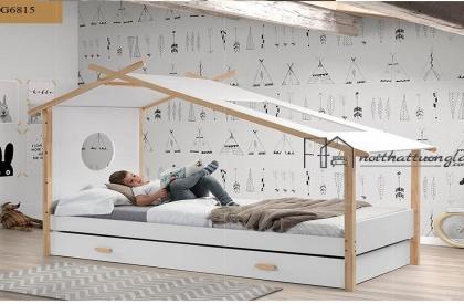 Giường ngủ cho bé thiết kế độc đáo BG6815
