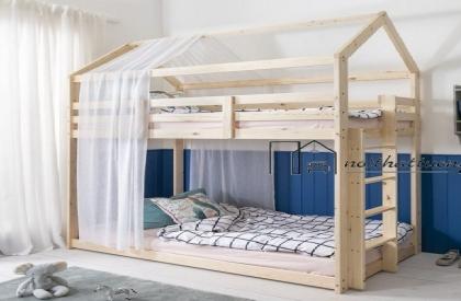 Giường tầng 2 mái thiết kế đơn giản mang vẻ đẹp Âu Mỹ GT6832
