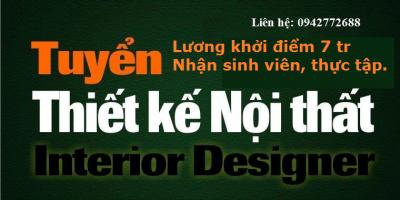 Tuyển nhân viên thiết kế nội thất tại Hà Nội