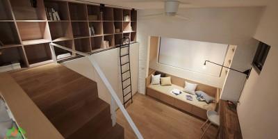 Thiết kế căn hộ nhỏ dưới 30m hiện đại và cá tính