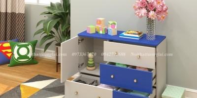 Những mẫu tủ quần áo trẻ em gỗ công nghiệp giá dưới 3 triệu