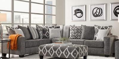 Lựa chọn nội thất bàn ghế tùy vào diện tích phòng khách
